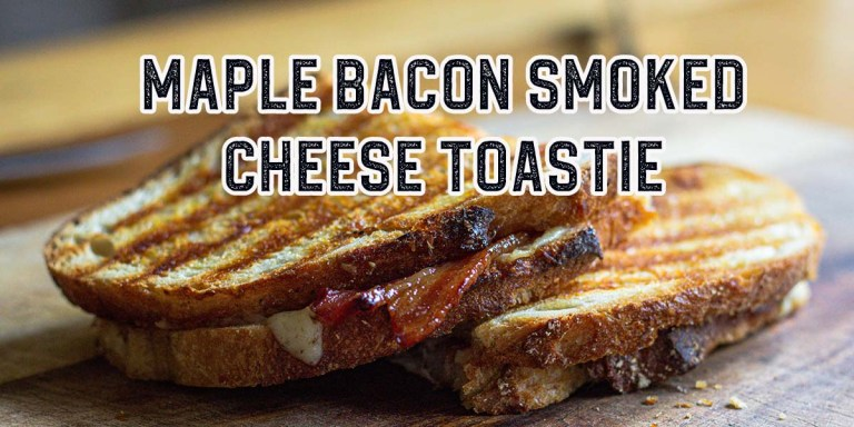 How To: Maple Glazed Bacon and Smoked Cheese Toastie