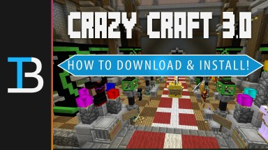 how to download & install crazy craft 3.0