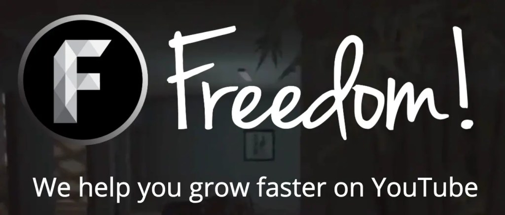 Freedom - YouTube Networks That Give Small Channels Partnerships