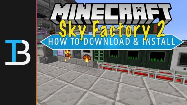 How To Download & Install Sky Factory 2