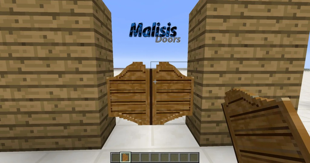 Malisis Doors Minecraft Mod - 15 Mods You Must Try in Minecraft Forge