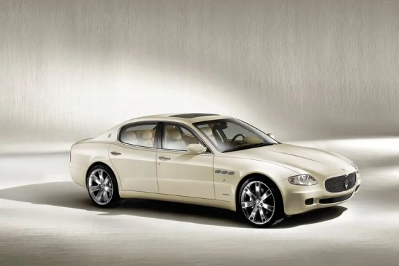 maserati quattroporte - used luxury cars that make you look wealthy