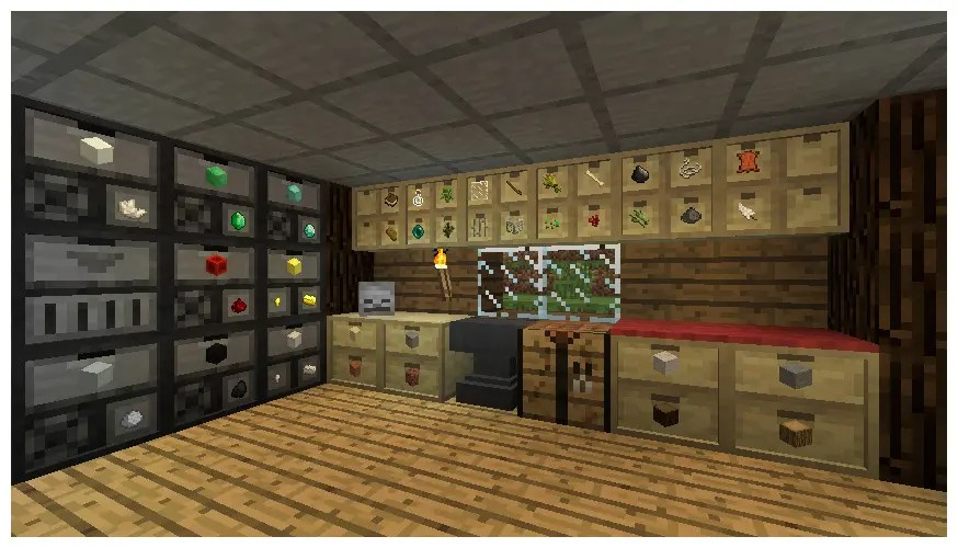 Storage Drawers - An Epic Minecraft Forge Mod That Adds Storage To Minecraft