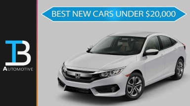 Best New Cars Under $20,000