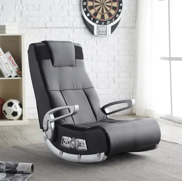 X Rocker 5143601 With Built In Speakers   Incredible Console Gaming Chairs  .psd