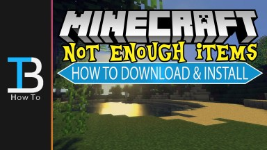 How To Download & Install Not Enough Items in Minecraft