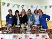 The Brentwood Belles WI at the Spring Group meeting 2012