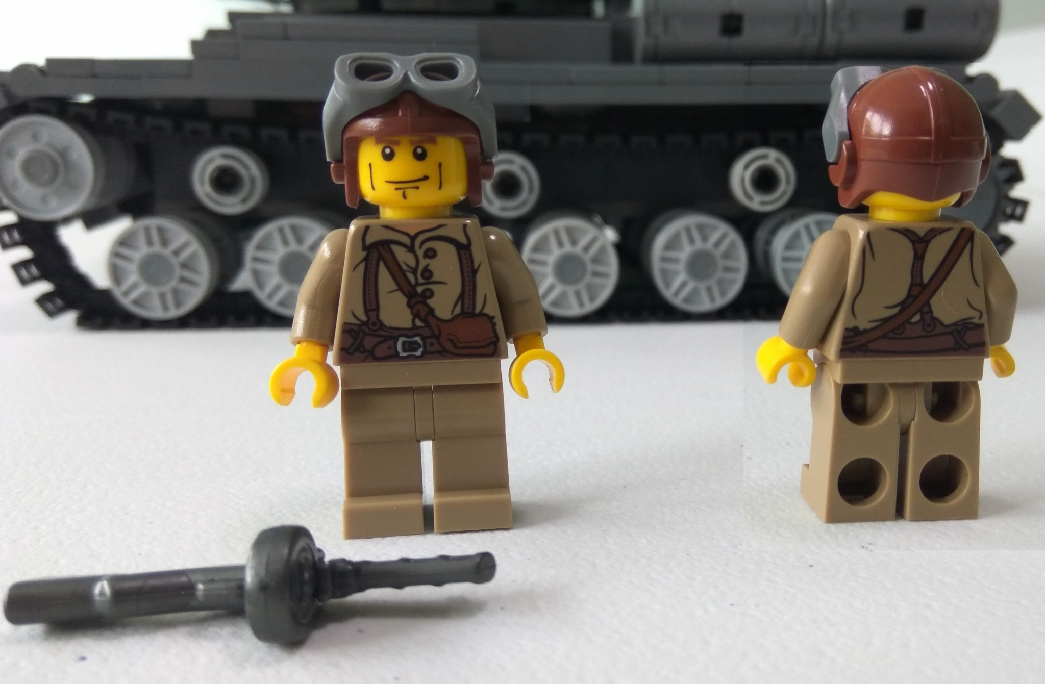 Brickmania Kit Review: IS-2 Russian Heavy Tank (2062) - The BrickHorse