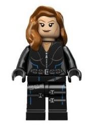 Black Widow Minifigure 6869