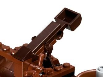 LEGO 10236 Ewok Village Catapult in motion