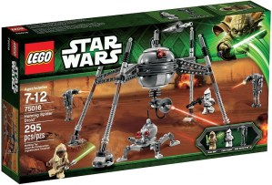Lego 75016 Homing Spider Droid Box