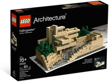 Lego Architecture Fallingwater Box