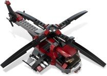 Lego Chopper Above Set 6866