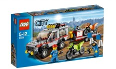 Lego City 2012 Dirt Bike Transporter