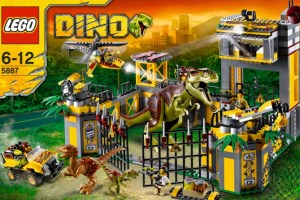Lego Dino Defence HQ 5887