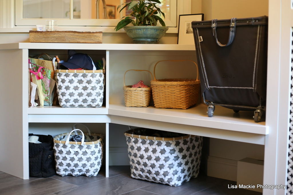 cubbies bulit ins mudroom baskets