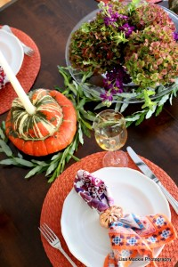 Lisa's Vibrant Thanksgiving Table