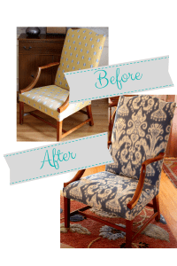 Living Room Reupholster Reveal