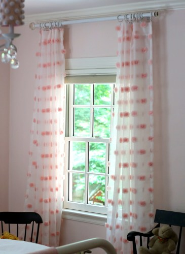 We Have Curtains — A Girly Bedroom Update