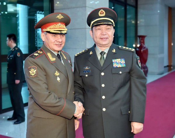 Russian Defense Minister cites need for closer China ties ...