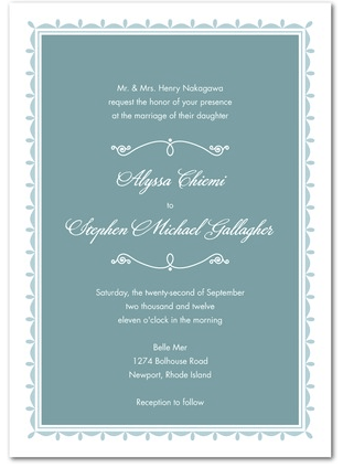 Wedding Invitations The Bridal Diaries