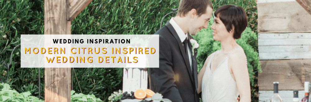 Modern Citrus Inspired Wedding Photoshoot by Sara Bishop Photography at Gather Estate in Mesa, AZ | Bridechilla Wedding Planning | www.thebridechilla.com