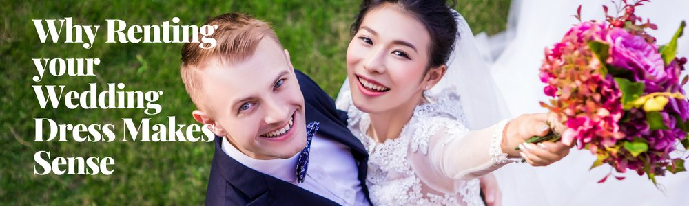 Renting your wedding dress