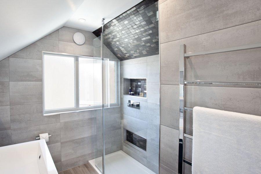 Loft Ensuite With Large Shower —Hove