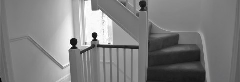 Bespoke staircases hand made by Brighton joiners.