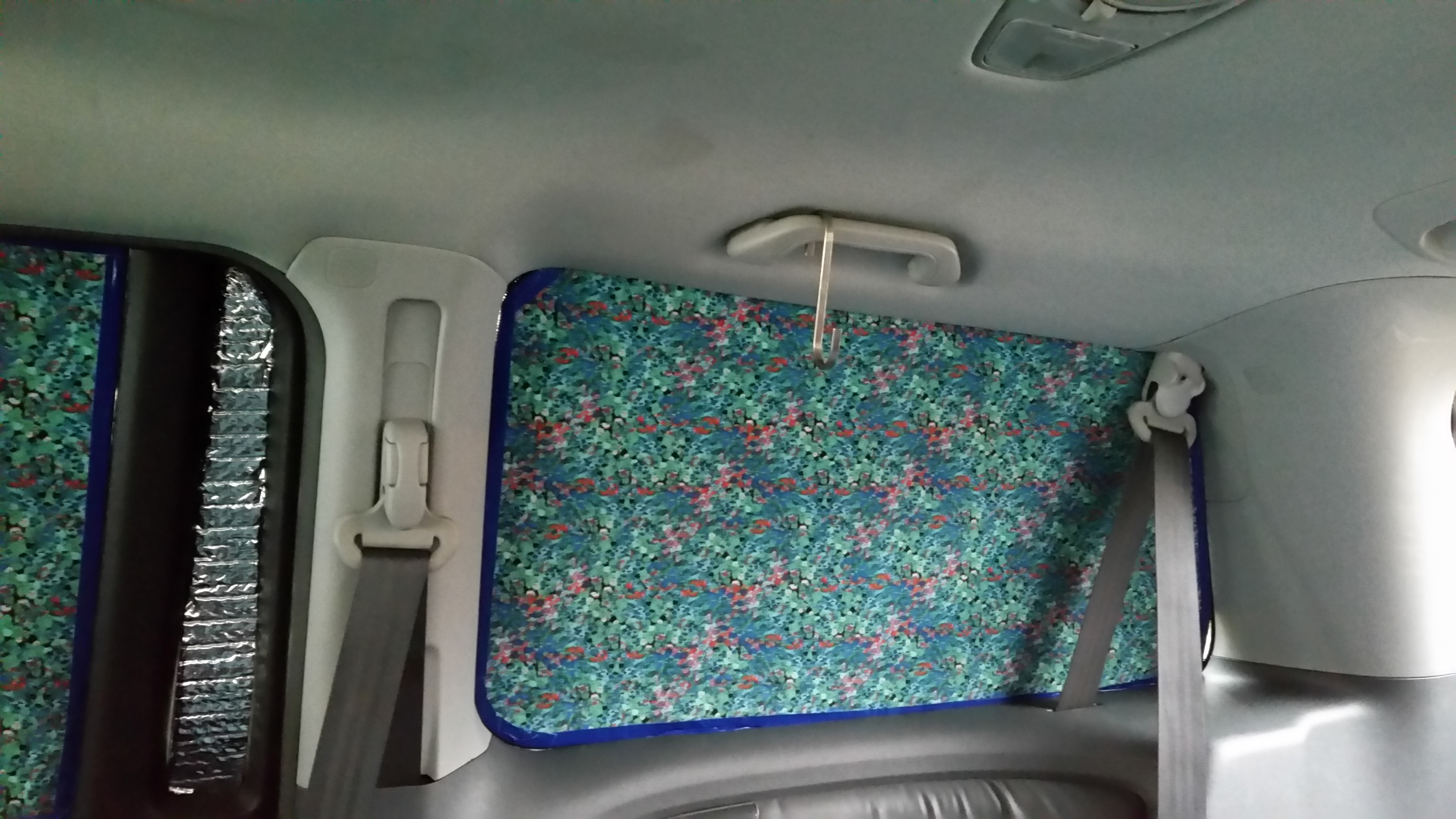 Diy Insulated Van Window Coverings The Bright Places