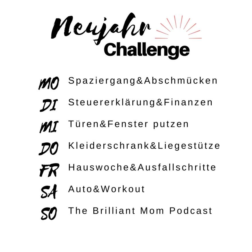 Neujahr Challenge