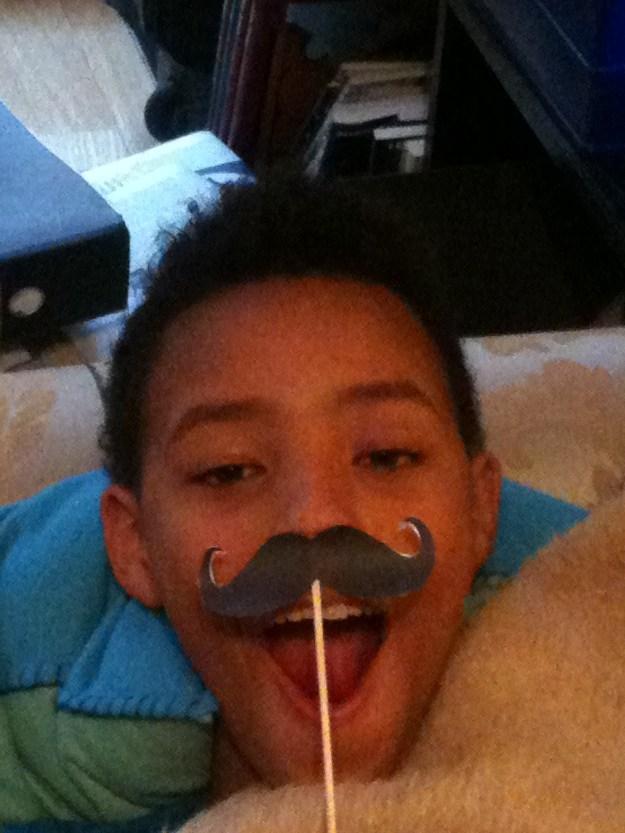 A better moustache!