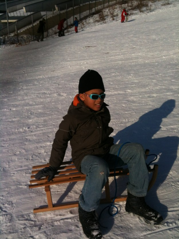 Get yourself some real snow..in the park!