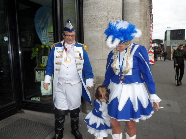 Making an effort. Cologne Carnival 2014.