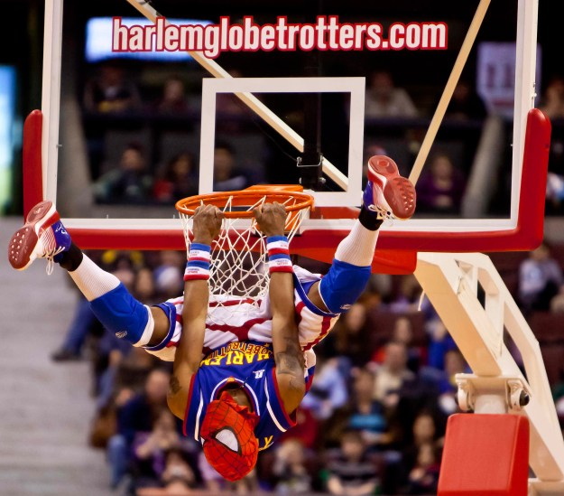 """Firefly"" Fisher: The Harlem Globetrotters - Basketball."