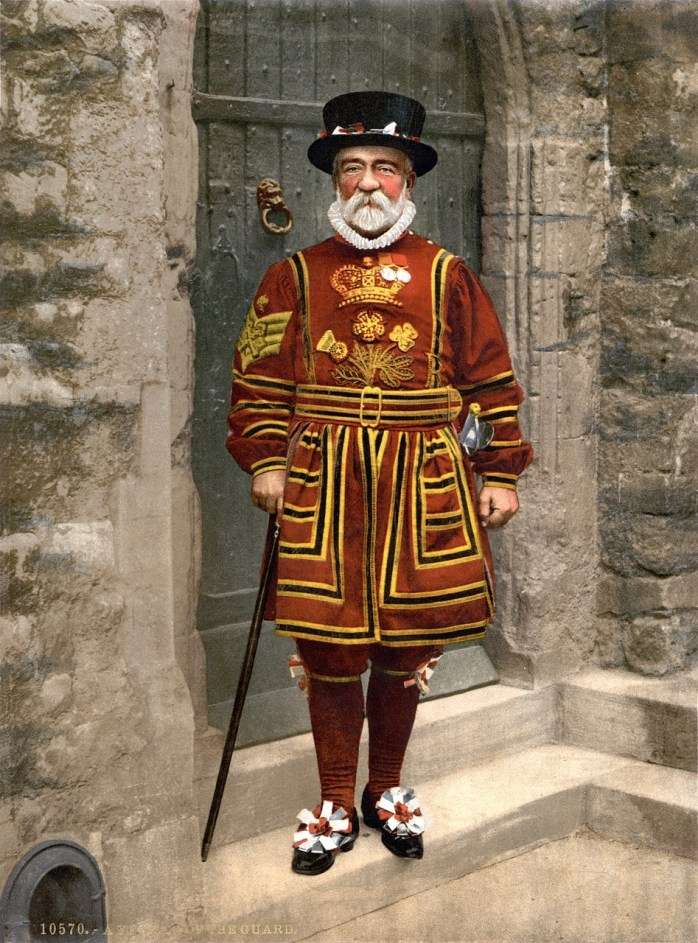 yeoman; military; Yeomen of the Guard; Tower of London; Yeoman of the Chamber; Yeoman of the Crown; Yeoman Usher; King's Yeoman; Yeomen Warders; royal guard; guardsman; noble; British; Great Britian; Britain; United Kindom; England; UK; GB;