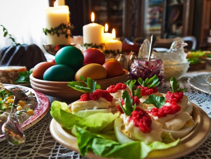 Traditional Polish food.