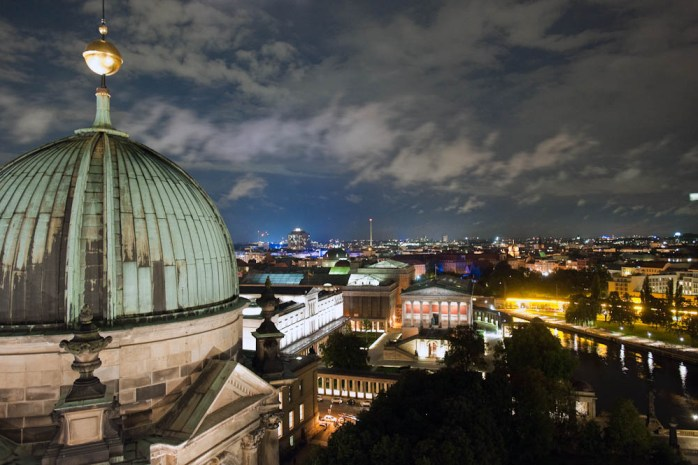 The Berliner Dom at Night. © Foto: Sergej Horovitz