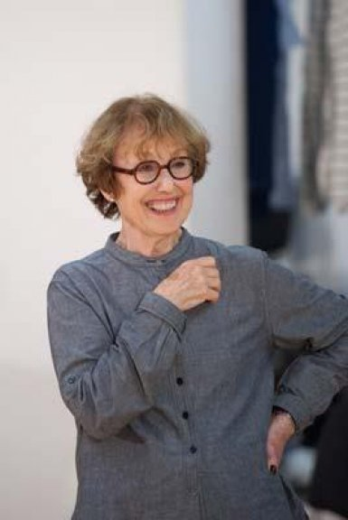 The Curious Incident Rehearsal of Una Stubbs playing Mrs Alexander. Photo: Manuel Harlan.