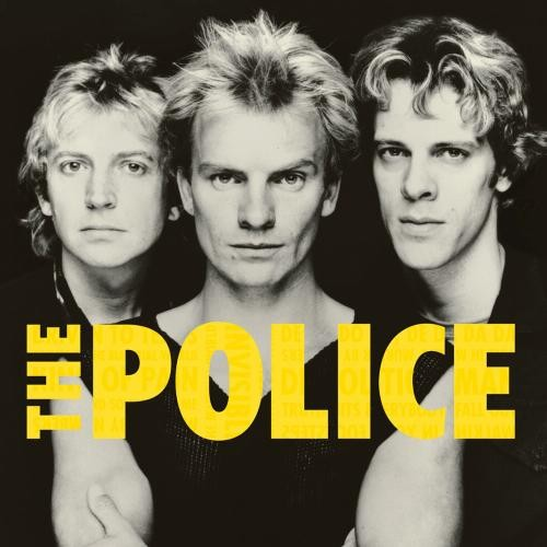 The Police with the lead singer - Sting.
