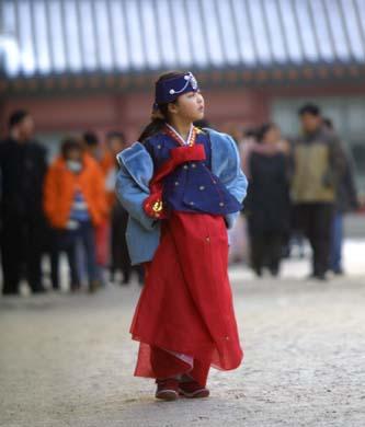 Hanbok - Korean traditional clothing