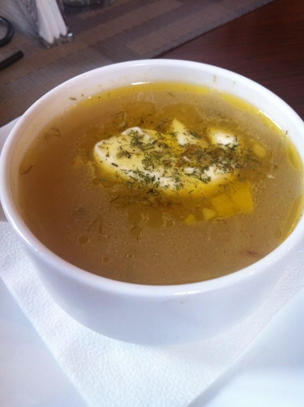 Lithuanian soup.