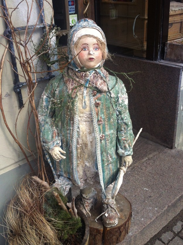 A rather disturbing-looking doll!
