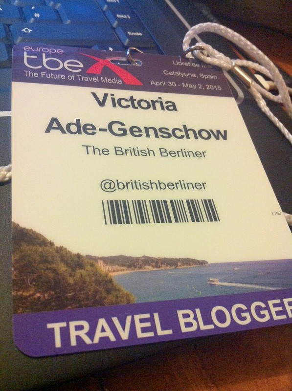 My TBEX Badge 2015.