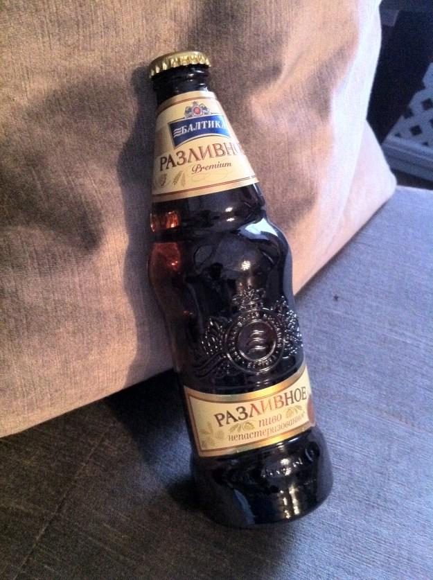 Russian beer!