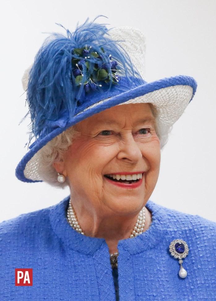 The Queen! ©PRESS ASSOCIATION / Danny Lawson.