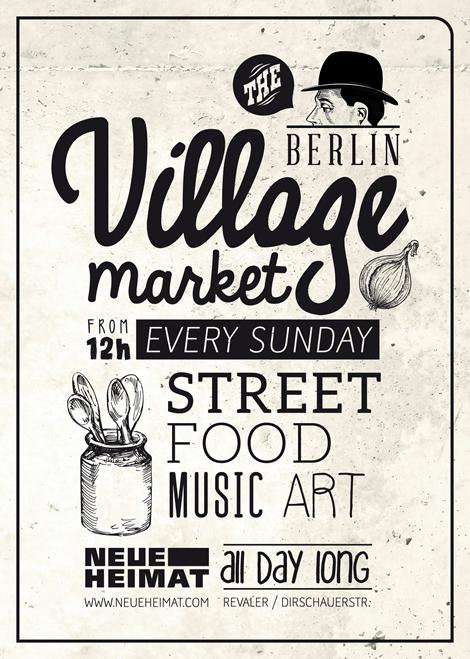 Neue Heimat - street food, music and art in Berlin.