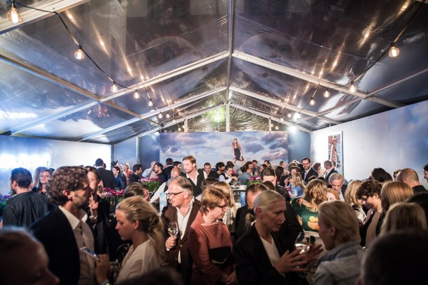 Atmo, †bersicht Mercedes-Benz und Vogue Fashion Night im Rahmen der Mercedes-Benz Fashion Week Berlin SPRING/SUMMER 2016, Restaurant Borchardt am 10.07.2015 Foto: Nass / Brauer Photos fuer Mercedes-Benz