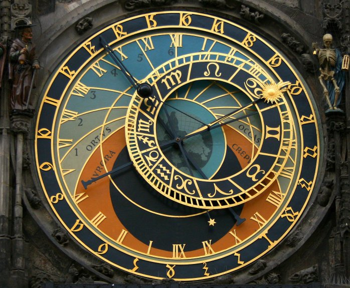 The clock on Staromeska!