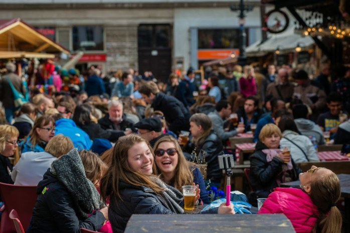 Happy Hungarian people - Budapest Spring Fair 2015